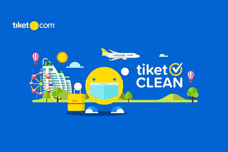 tiket.com Sediakan Fitur Terbaru tiket CLEAN untuk Menambah Rasa Aman dan Nyaman Pelanggan dengan Standarisasi Protokol Kesehatan