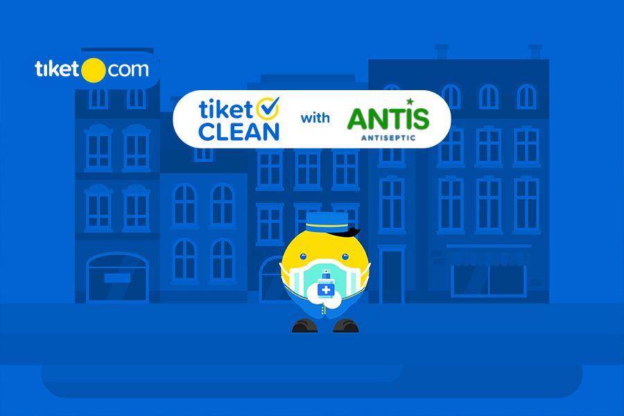 Staycation Lebih Aman dan Nyaman dengan tiket CLEAN x Antis dari tiket.com!