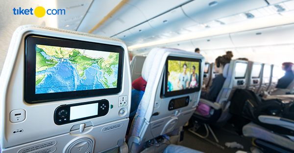 Cara memilih kursi pesawat